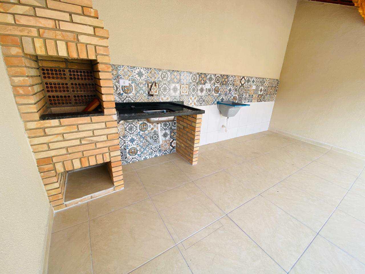 Casa com 2 dorms, Pedreira, Mongaguá - R$ 339 mil, Cod: 384