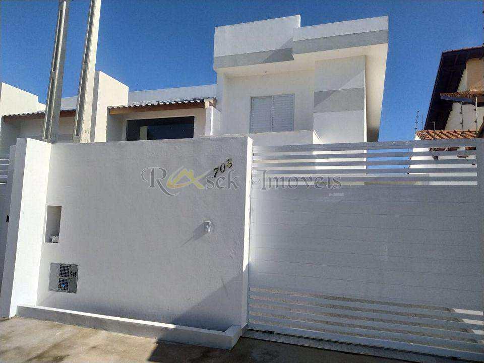 Sobrado com 3 dorms, Cibratel, Itanhaém - R$ 410 mil, Cod: 408