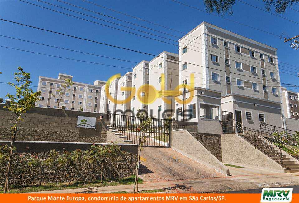 Apartamento com 2 dorms, Recreio São Judas Tadeu, São Carlos - R$ 130 mil, Cod: 131