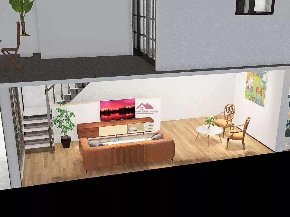 Casa com 2 dorms, Santa Maria, Santos - R$ 480 mil, Cod: SEI299