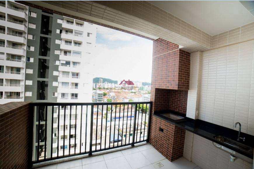Apartamento com 3 dorms, Encruzilhada, Santos - R$ 789 mil, Cod: Sei315