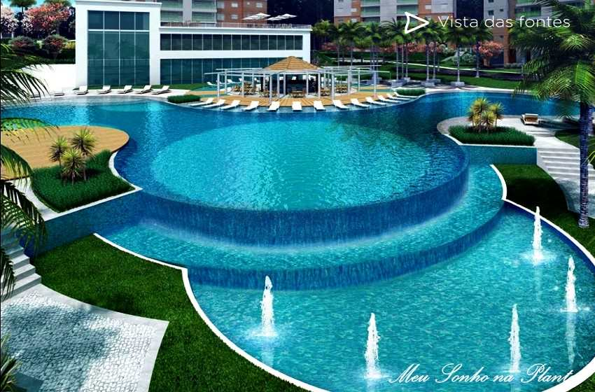 Apartamento de 153m² à venda Acqua Galleria Condomínio Resort