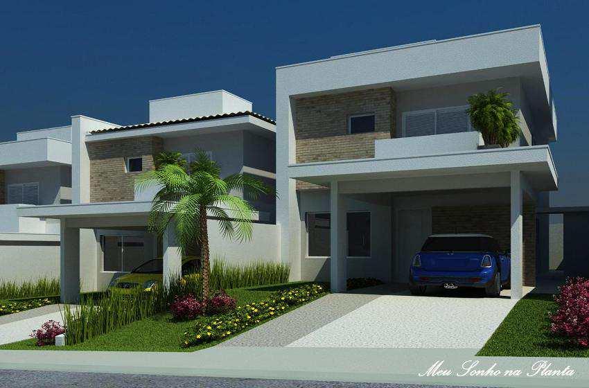 Villa Dorata Residenziale - Casas de 142m², Valinhos SP.