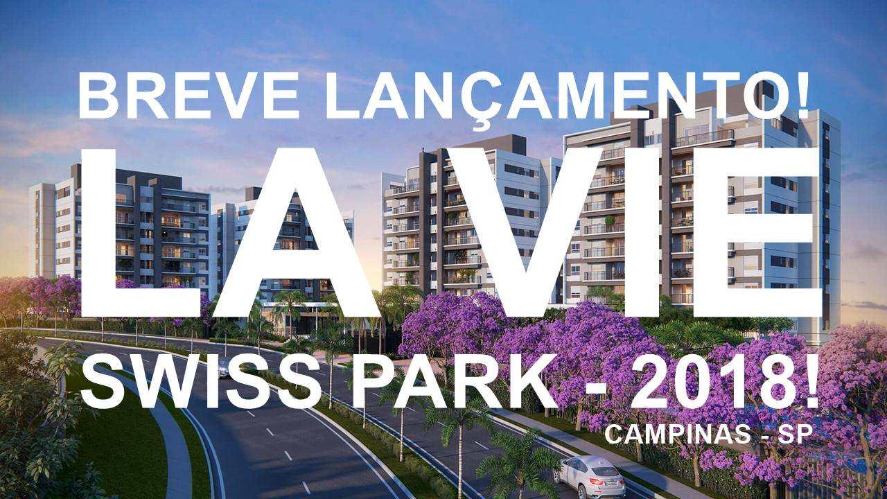 Apartamentos à venda La Vie Swiss Park Campinas