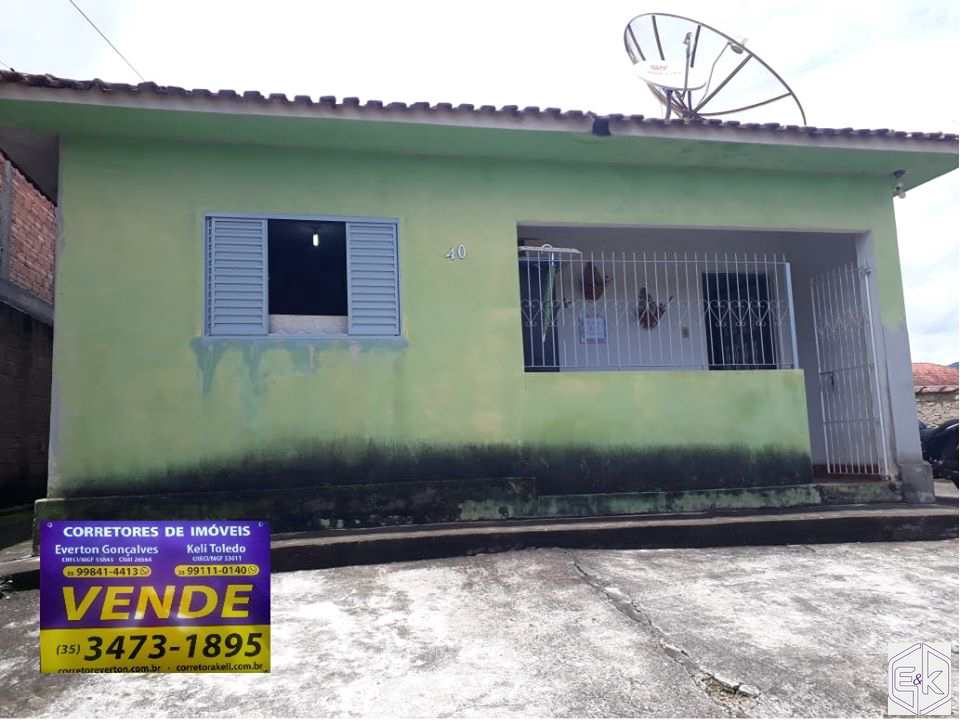 Casa com 2 dorms, Loteamento Santana, Santa Rita do Sapucaí - R$ 240 mil, Cod: 243