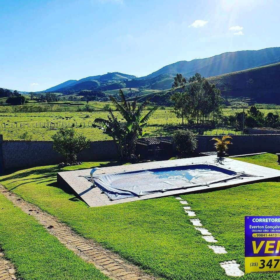 Chácara com 3 dorms, Zona Rural, Santa Rita do Sapucaí - R$ 350 mil, Cod: 20