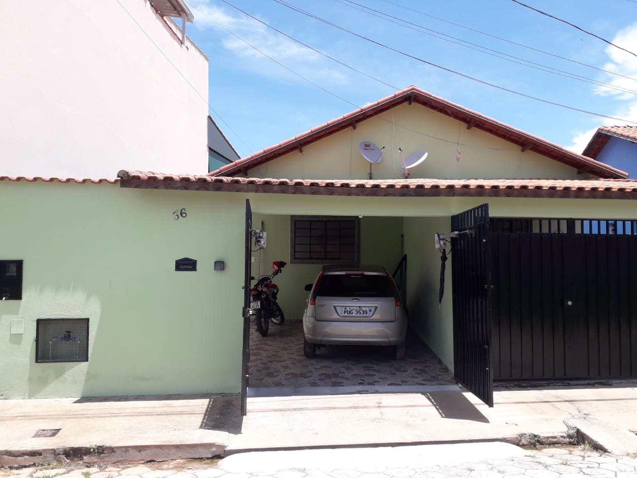Casa com 2 dorms, Loteamento Por Sol, Santa Rita do Sapucaí - R$ 190 mil, Cod: 38