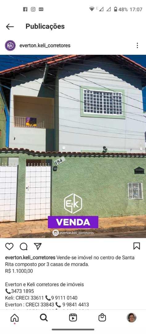Casa, Centro, Santa Rita do Sapucaí - R$ 1.1 mi, Cod: 207