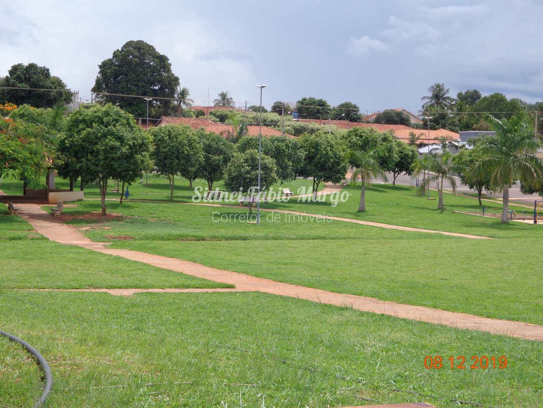 Muita área verde para as crianças
