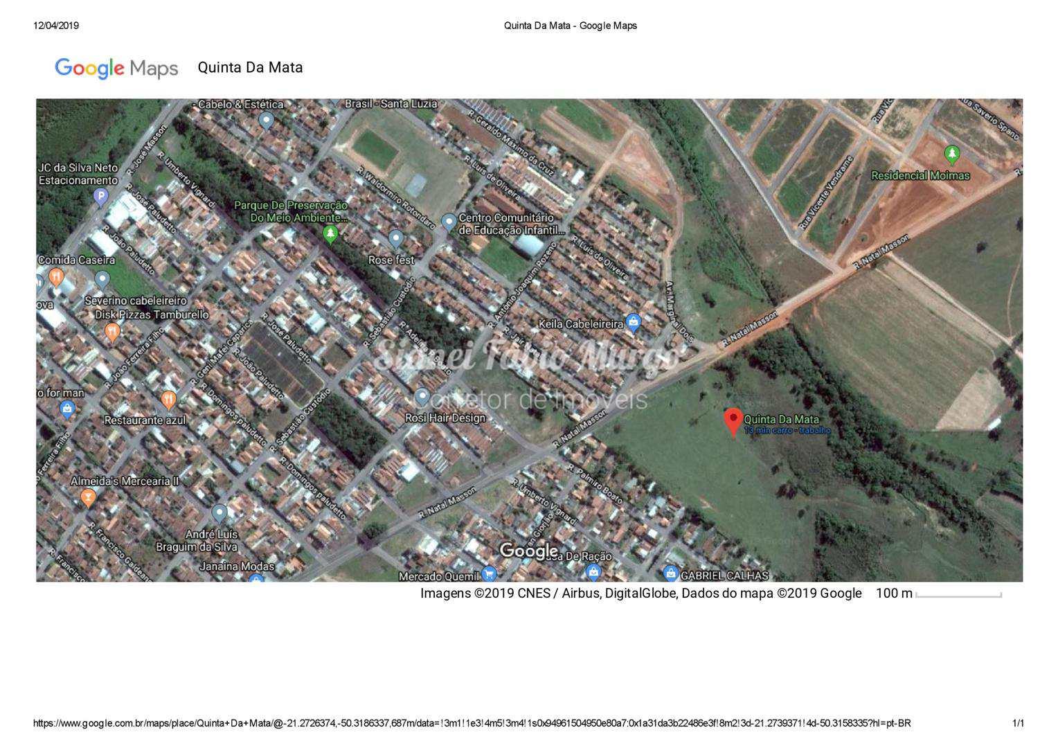 Loteamento, Residencial Quinta da Mata, Birigui - R$ 59.9 mil, Cod: 54