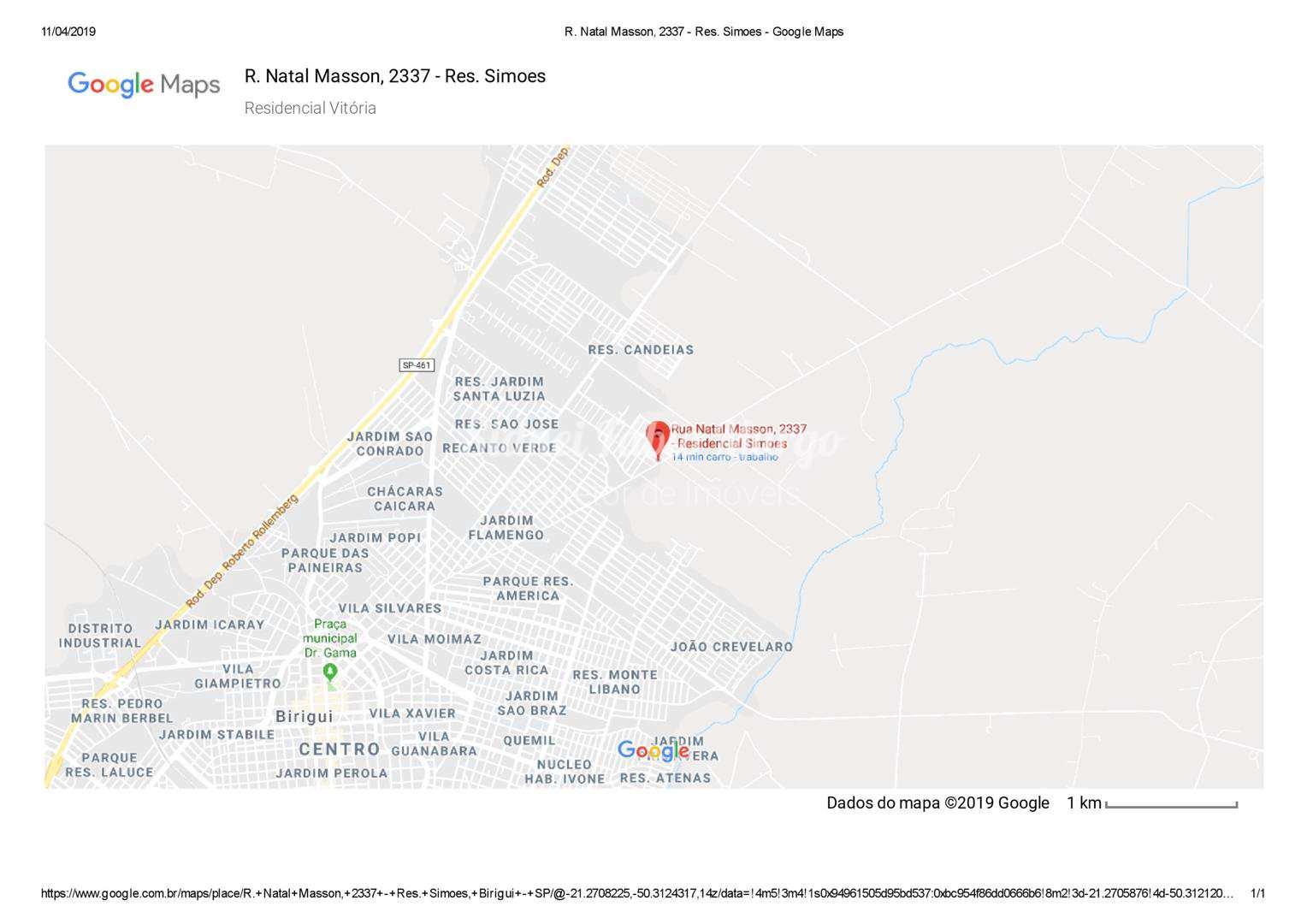 Loteamento, Residencial Vitória, Birigui - R$ 57 mil, Cod: 56