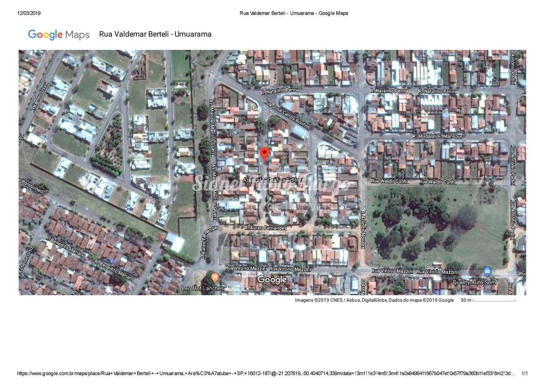 Casa com 3 dorms, Água Branca II, Araçatuba - R$ 171 mil, Cod: 96