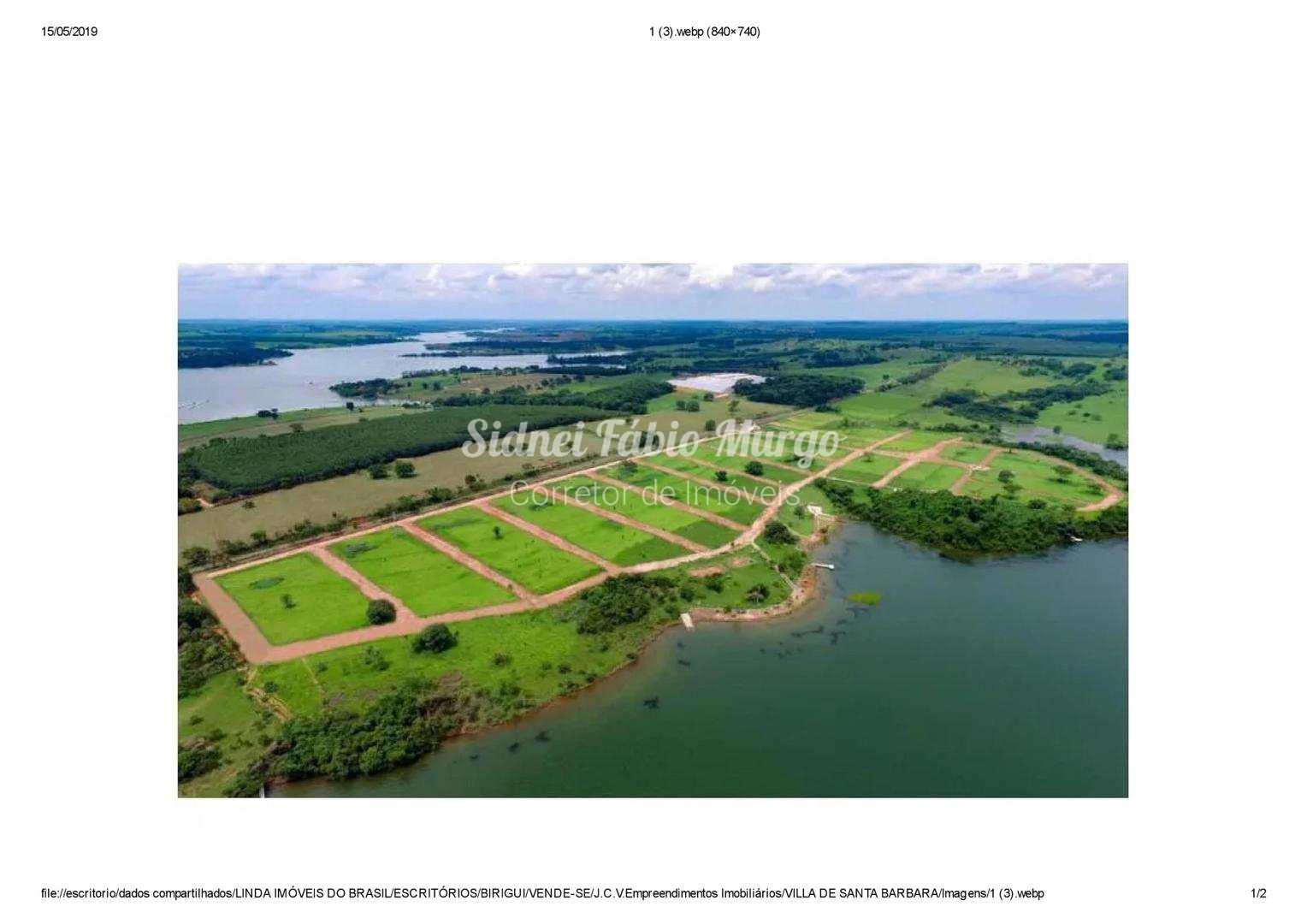 Terreno de Condomínio, Villa de Santa Bárbara, Zacarias - R$ 70.6 mil, Cod: 111