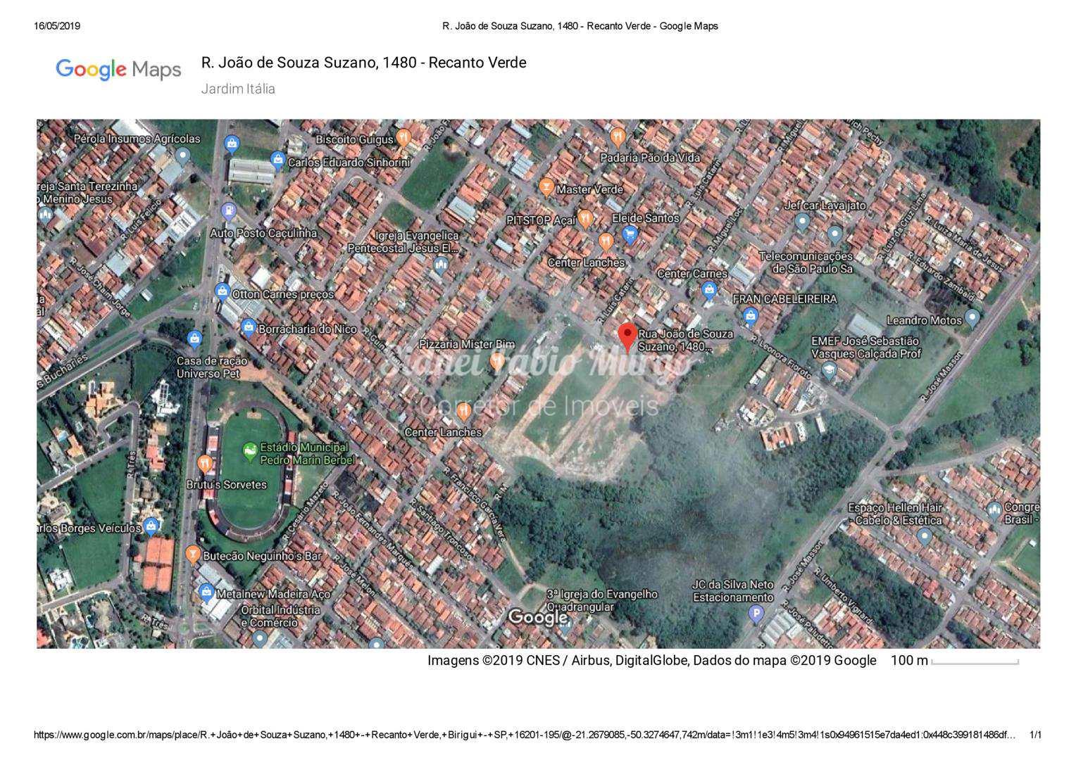 Loteamento, Recanto Verde, Birigui - R$ 82.5 mil, Cod: 112