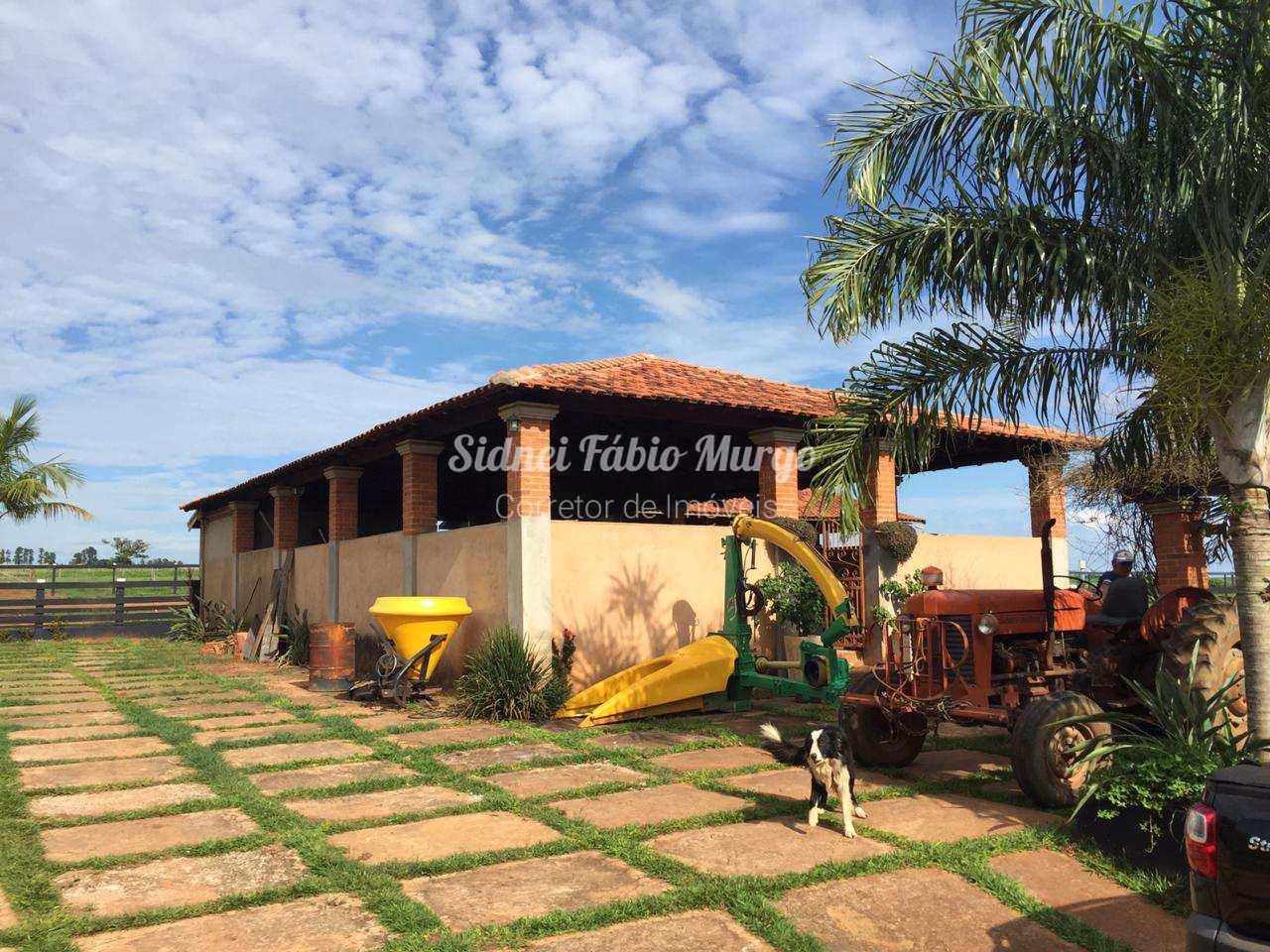 Sítio com 4 dorms, Área Rural, Bilac - R$ 800 mil, Cod: 144