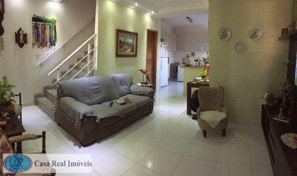 Sobrado com 2 dorms, Guilhermina, Praia Grande - R$ 350 mil, Cod: 541