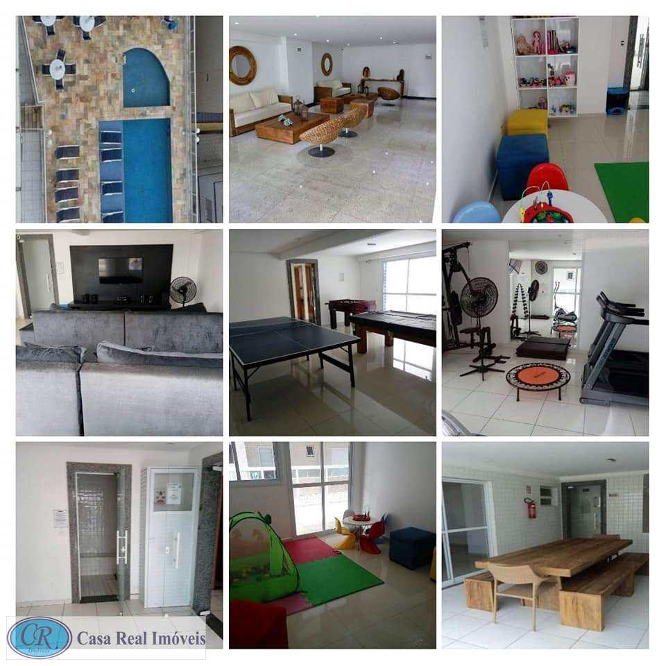 Apartamento com 2 dorms, Tupi, Praia Grande - R$ 330 mil, Cod: 556