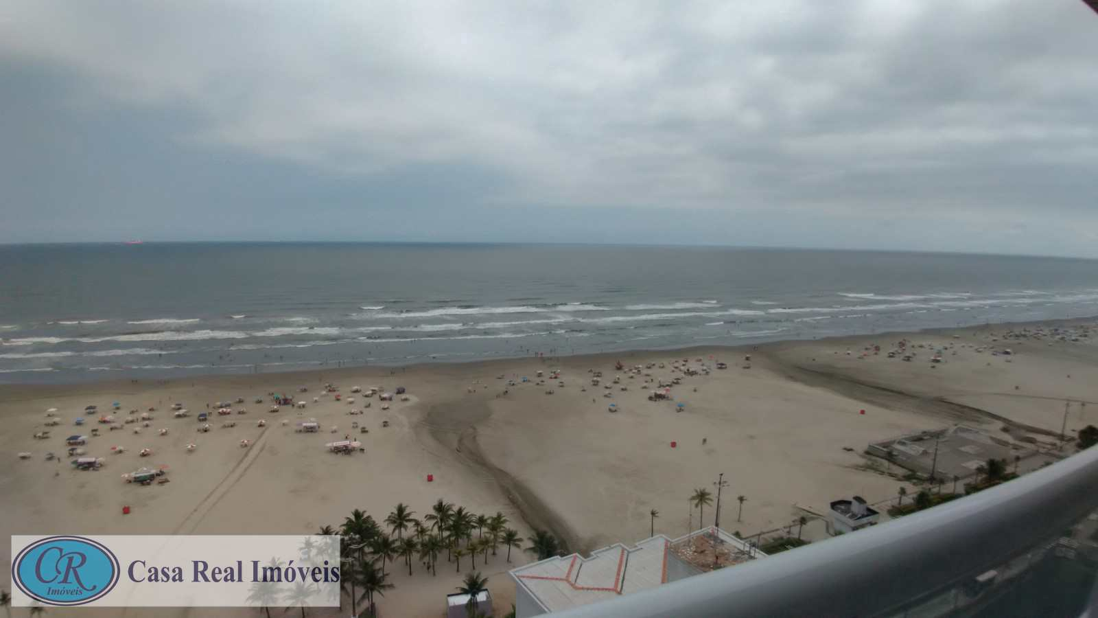 2 dorms Frente Mar Praia Grande - R$ 480 mil, Cod: 669