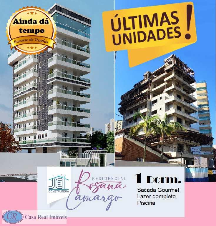 Apartamento com 1 dorm, Guilhermina, Praia Grande - R$ 287 mil, Cod: 681