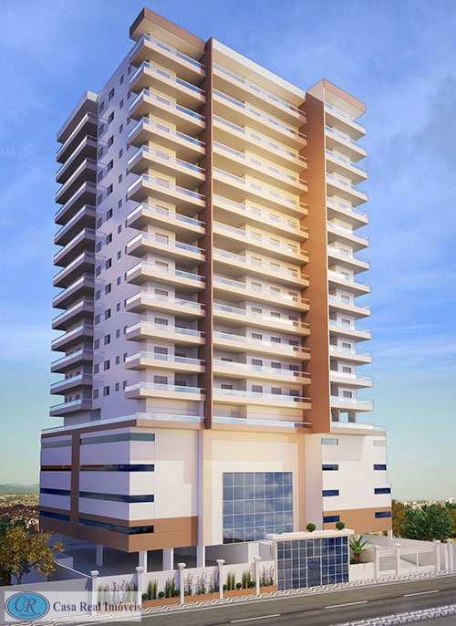 Apartamento com 2 dorms, Aviação, Praia Grande - R$ 321 mil, Cod: 684