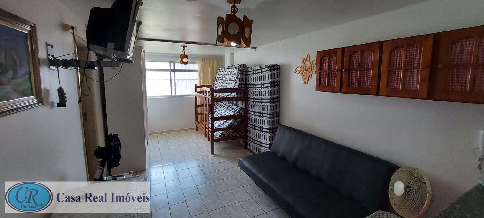 Kitnet com 1 dorm, Aviação, Praia Grande - R$ 110 mil, Cod: 742