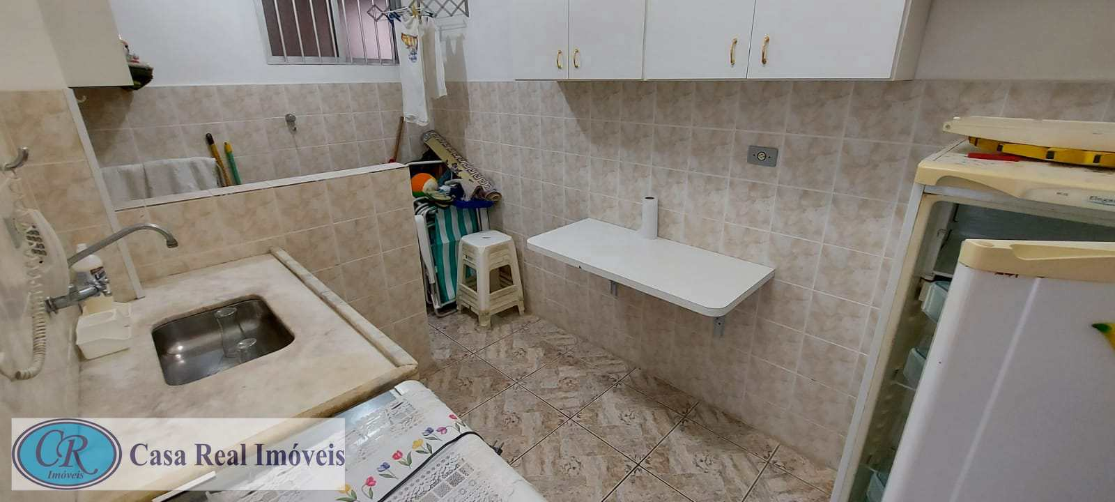 Apartamento com 1 dorm, Aviação, Praia Grande, Cod: 759