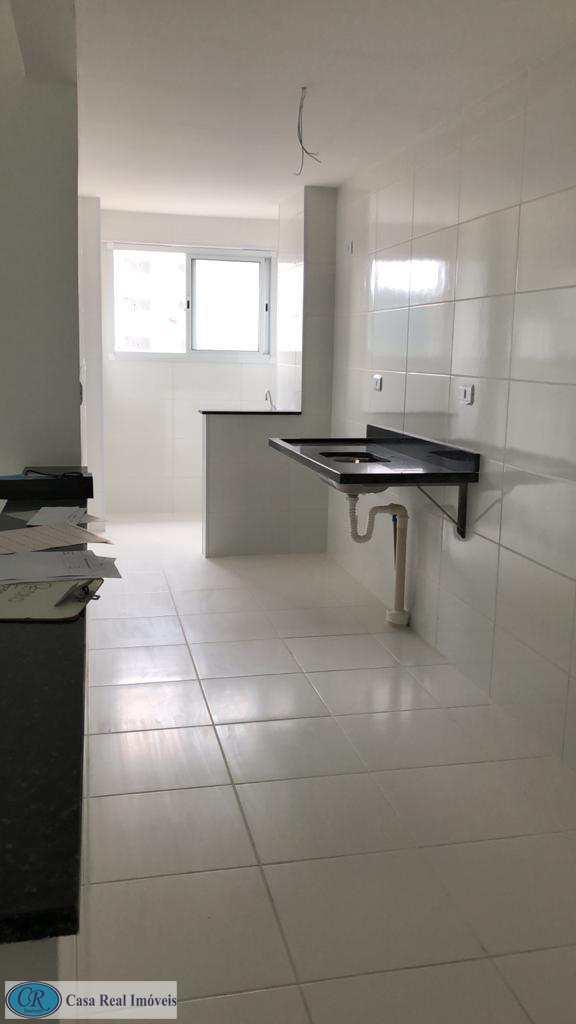 Apartamento com 2 dorms, Canto do Forte, Praia Grande - R$ 450 mil, Cod: 765