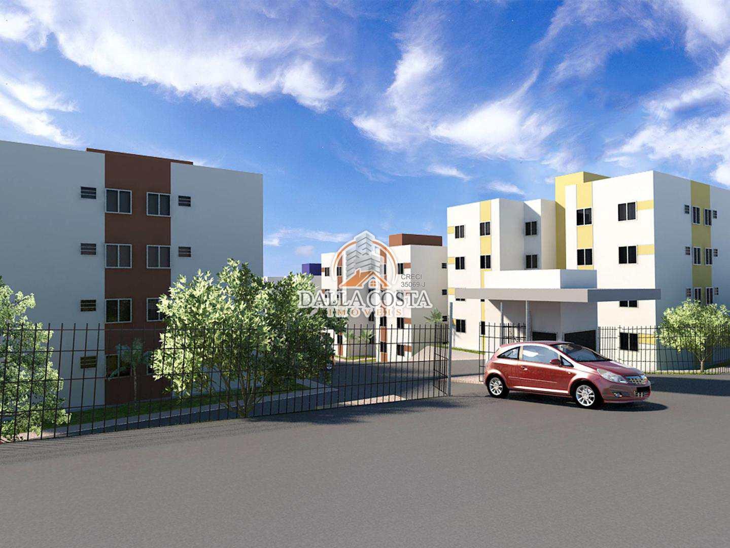 Apartamento em Capivari, bairro Alto Castelani