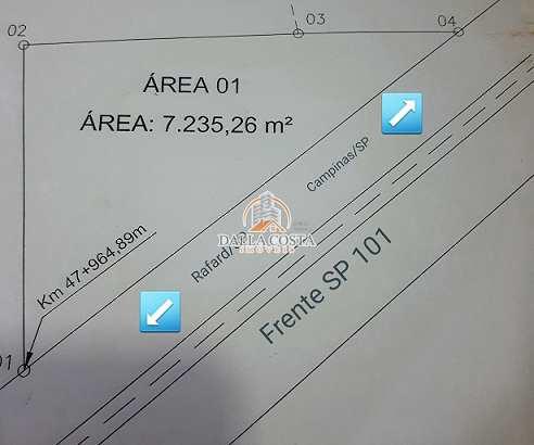 Área, Rodovia SP 101, Capivari - R$ 550 mil, Cod: 65