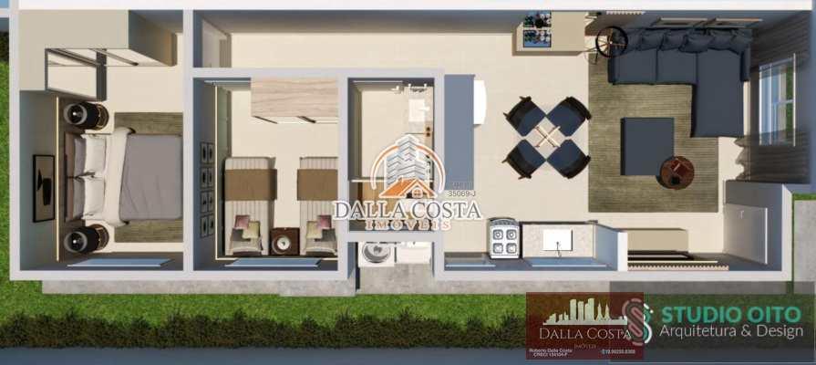 Casa com 2 dorms, Jardim São Fancisco, Rafard - R$ 170 mil, Cod: 90