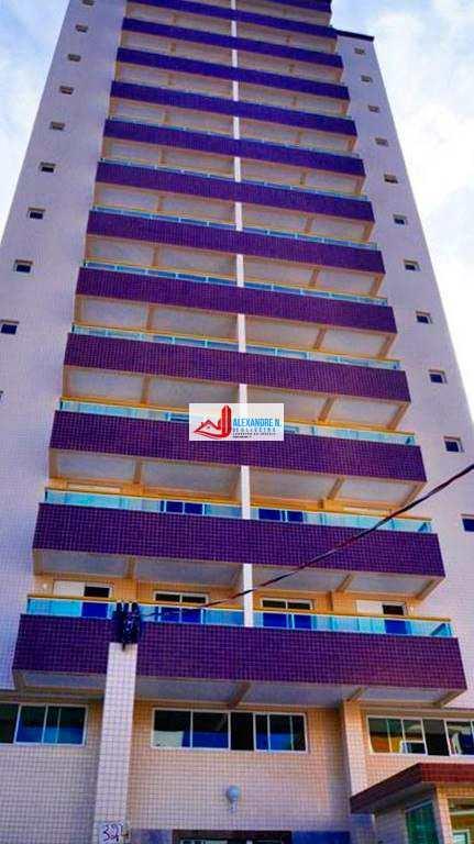 Apartamentos 1 e 2 dormitórios, sacada, piscina, salão de jogos, salão de festas, direto com a construtora em 120 meses para pagar, na Vila Tupi em Praia Grande