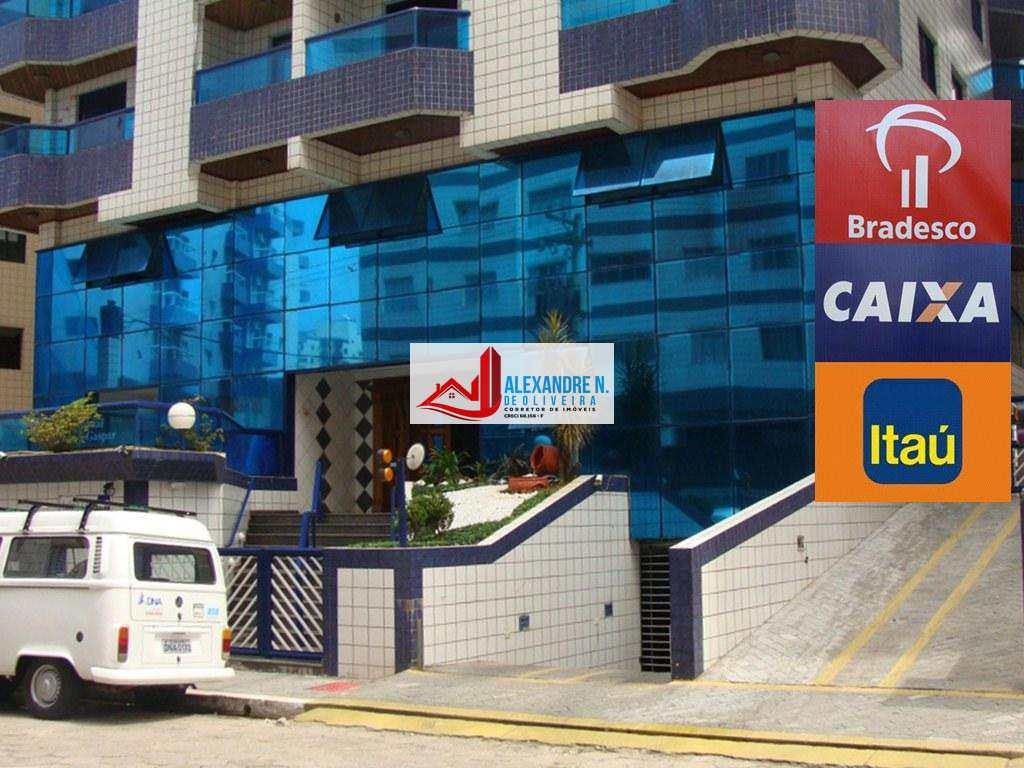 Apartamentos de 1 e 2 dormitórios c/ suíte, sacadas, piscina aquecida, salão de jogos, salão de festas, sala de ginastica, financiamento bancário na Ocian.