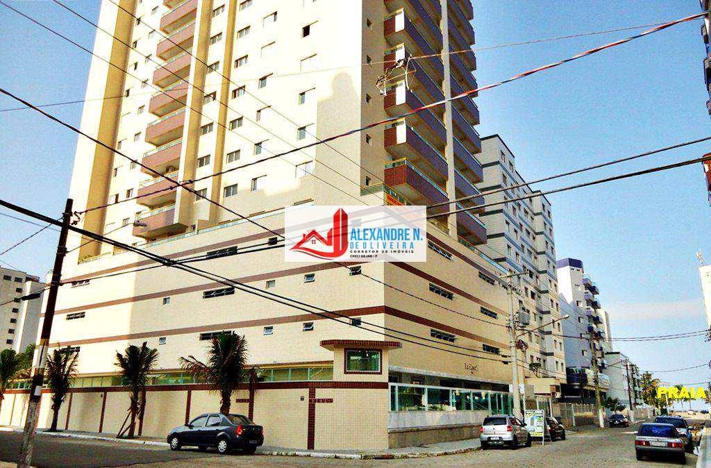 Apartamentos 2 e 3 dormitórios suíte, sacada gourmet com churrasqueira, 2 vagas na garagem, piscina, sauna, financiamento direto construtora 120 meses, na Ocian