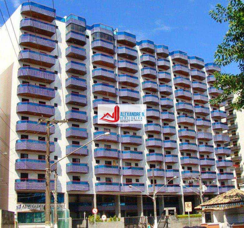 Apartamentos 1, 2 e 3 dormitórios suíte, sacada, garagem, 2 elevadores, espaço gourmet, à 60 metros da praia, no bairro da Ocian, próximo ao mercado Extra.