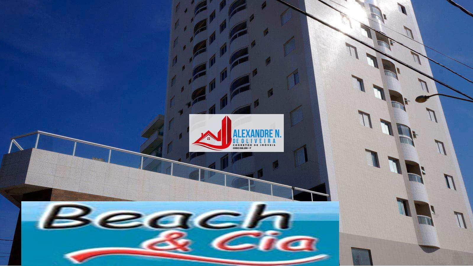 Apartamentos de 1, 2  dormitórios e coberturas Duplex, frente para o mar!!