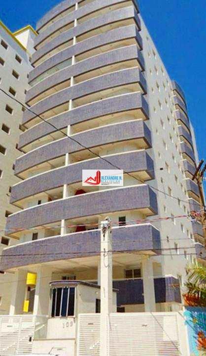 Praia Grande-SP, prédio a 100 metros da praia, Vila Mirim, ótima localização, excelente para moradia, lazer e investimento!!