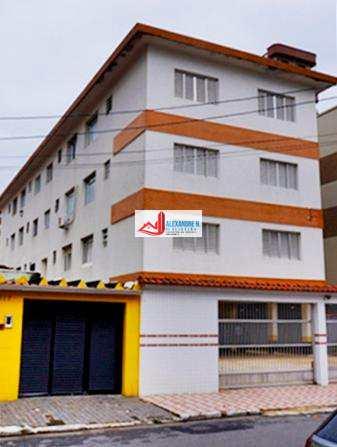 Apto 2 dormitórios, garagem, reformado, Guilhermina, 180 mil - financiamento bancário pelo Itaú
