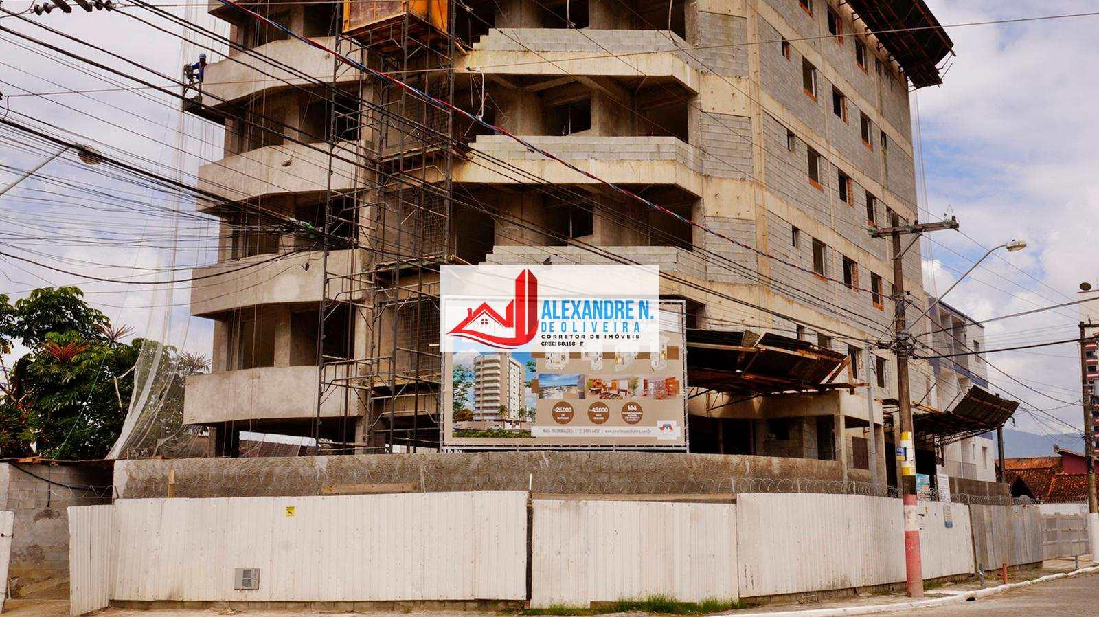 Apartamento com 2 dorms, Ocian, Praia Grande - R$ 314 mil, Cod: AP00492
