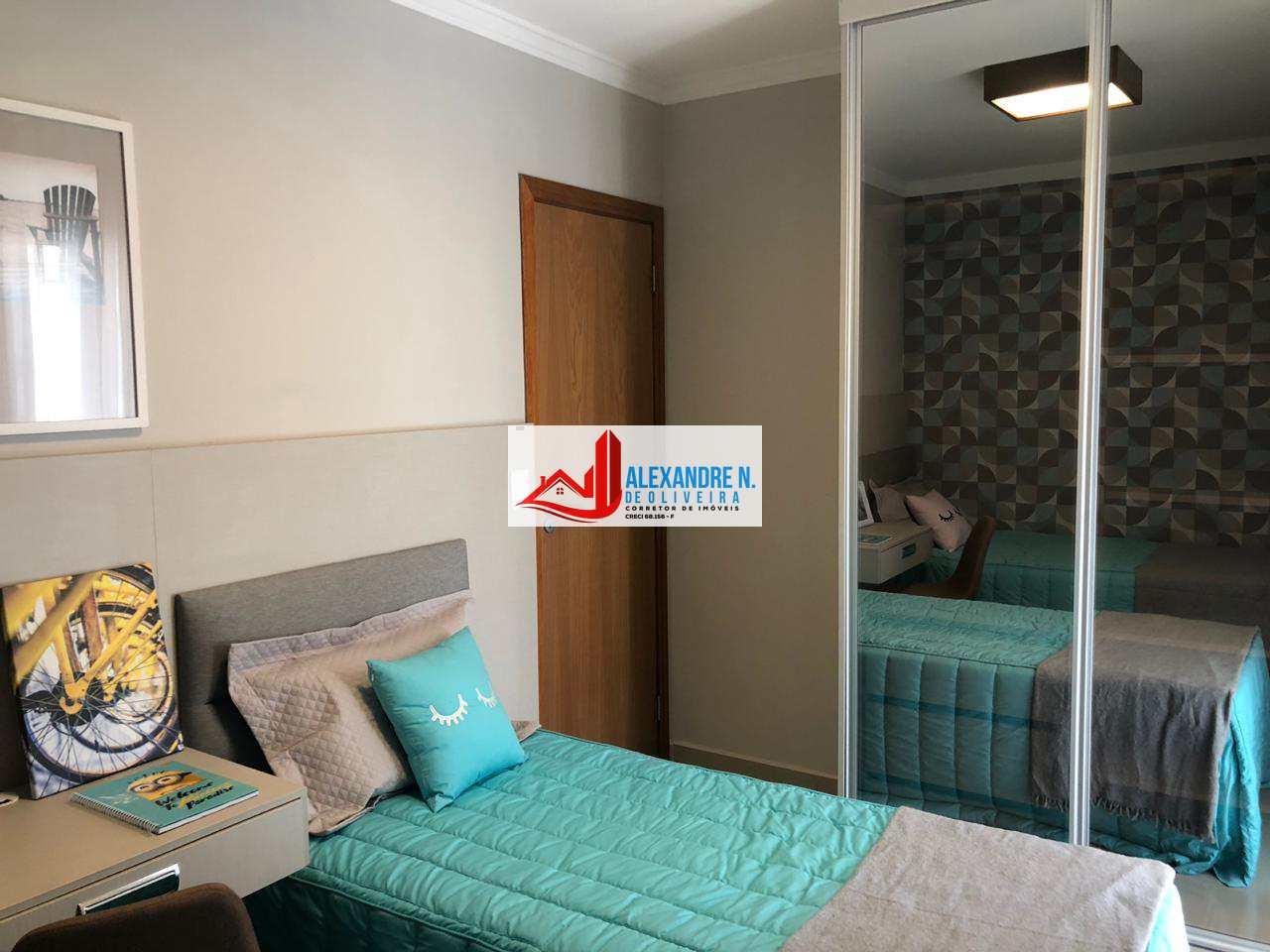Frente mar,1 dorm, suíte,Praia Grande, Entr. R$ 40 mil, AP00407