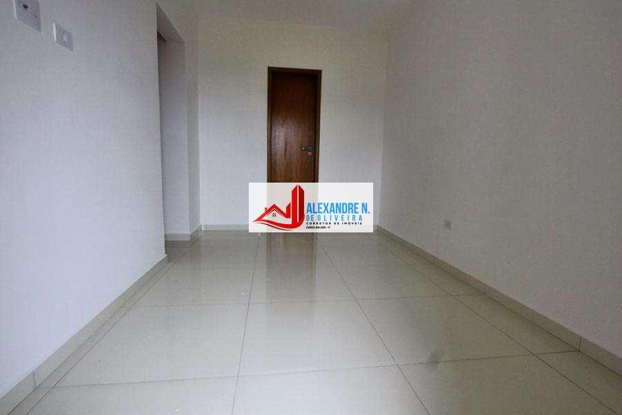 Vista-mar 2 dorms, Ocian, Praia Grande, Entr. 100 mil AP00441