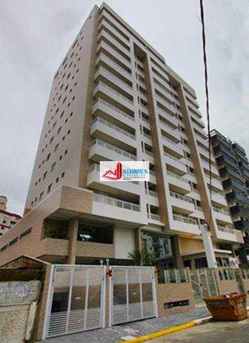 Apto 2 dorms, Ocian, Praia Grande, Entr. R$ 150 mil, AP00433.
