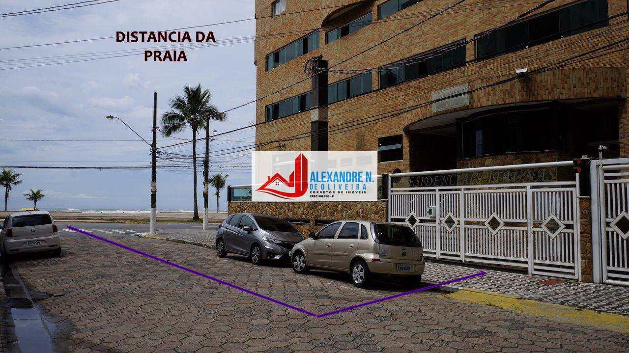 Frente mar, 2 dorms, Ocian, Praia Grande, R$ 550 mil, AP00189