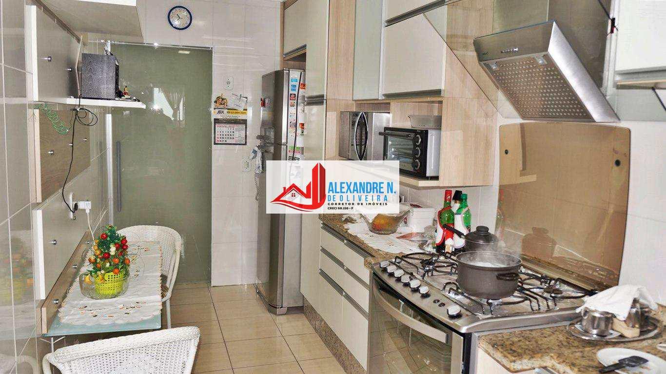 Vista-mar, 2 dorms, Ocian, Praia Grande, R$ 650 mil, AP00445.