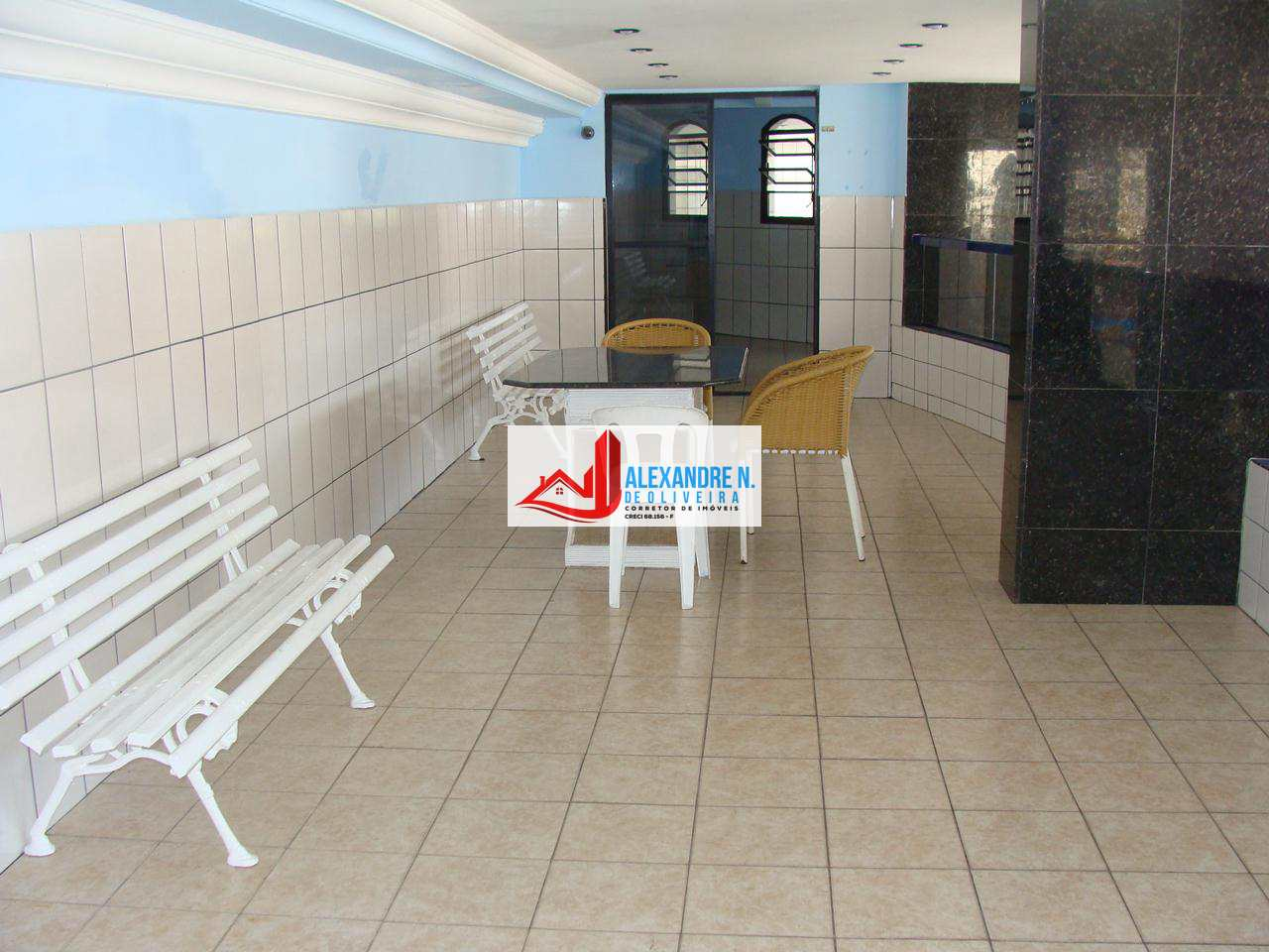 Apto 3 dorms, sacada, Praia Grande, Entr. R$ 100 mil, AP00449