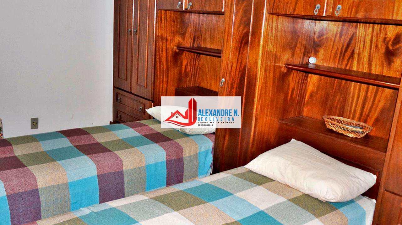 Vista mar, 2 dorms, Ocian, Praia Grande, R$ 275 mil, AP00314