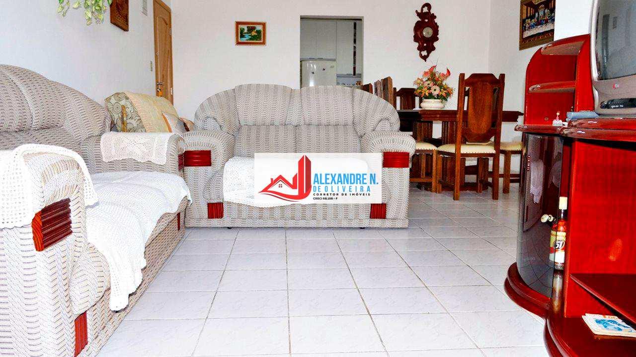 Vista mar 2 dorms, suíte, mobiliado, Ocian, R$ 275 mil, AP00314