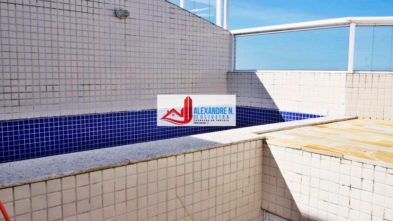 Cobertura com 3 dorms, Caiçara, Praia Grande - R$ 910 mil, Cod: COB0001