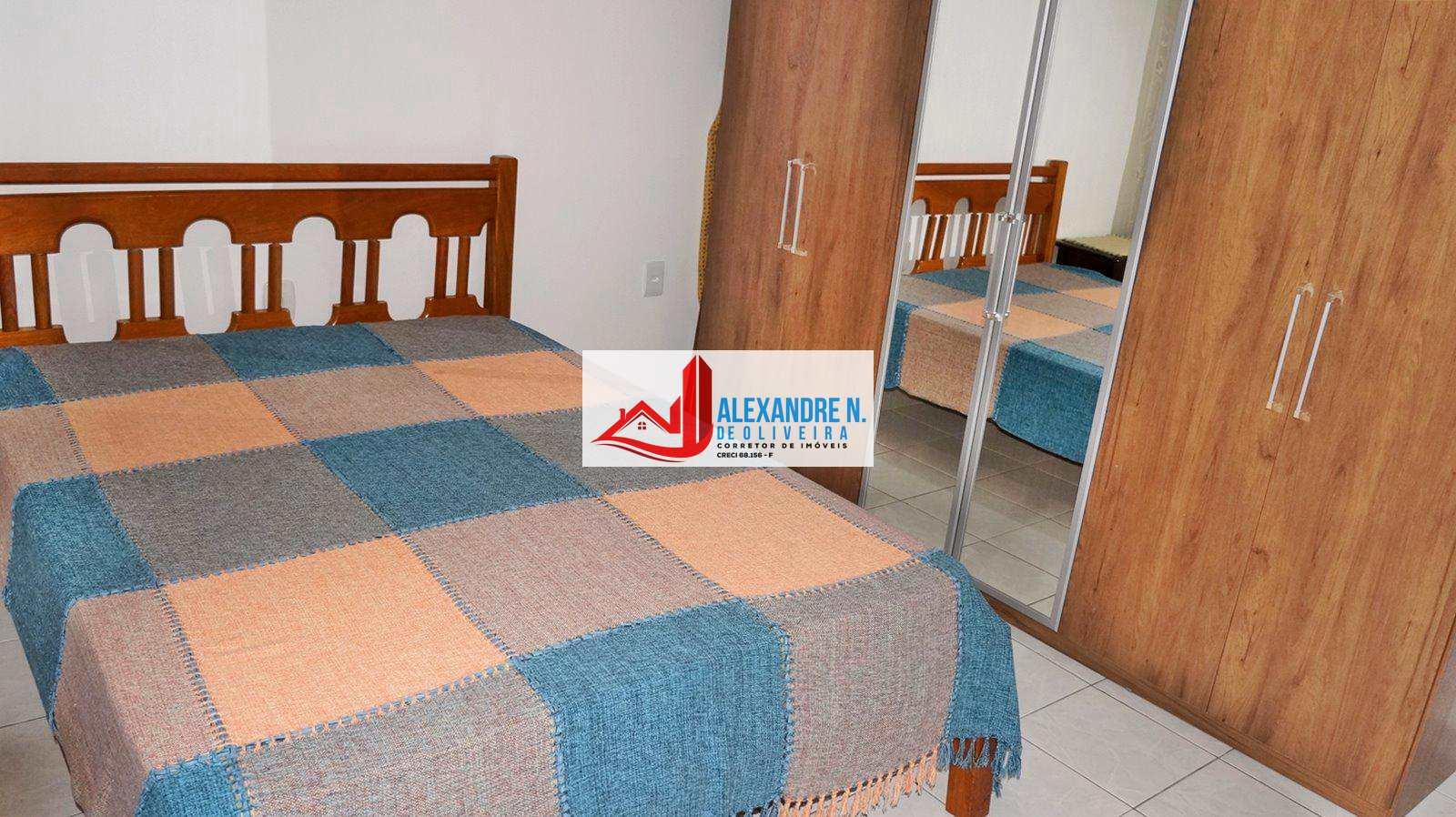 Vista-mar, 1 dorm, Ocian, Praia Grande - R$ 160 mil, AP00430