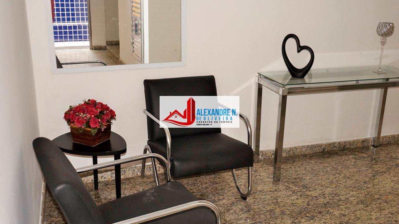 Vista-mar, 1 dorm, Ocian, Praia Grande, R$ 175 mil, AP00283