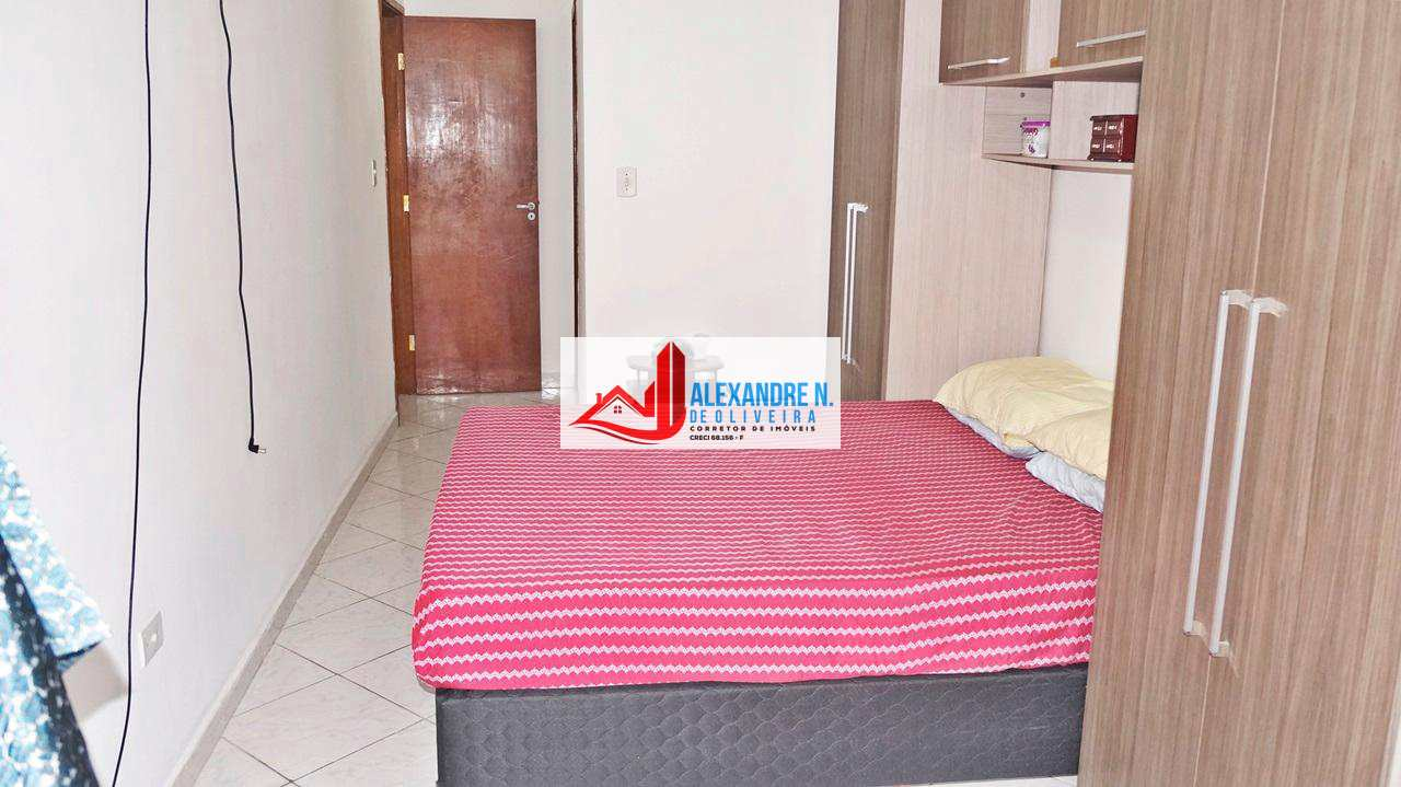 Vista-mar, 2 dorms, 2 vagas, Praia Grande, R$ 270 mil, AP00505